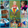 Alfie's super fun activities. What a cool kite!