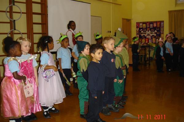 Class Assembly 'Little Rabbit Foo Foo'