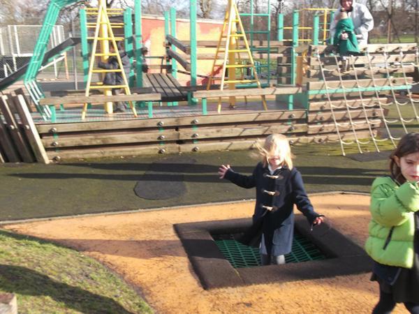 Investigating Playground equipment