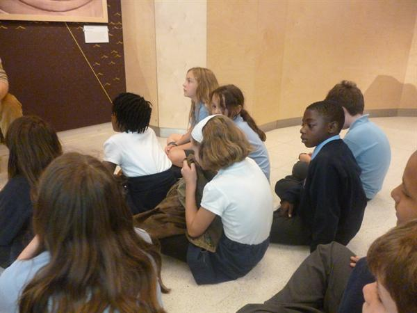 Year 5 visit to the Maritime Museum.