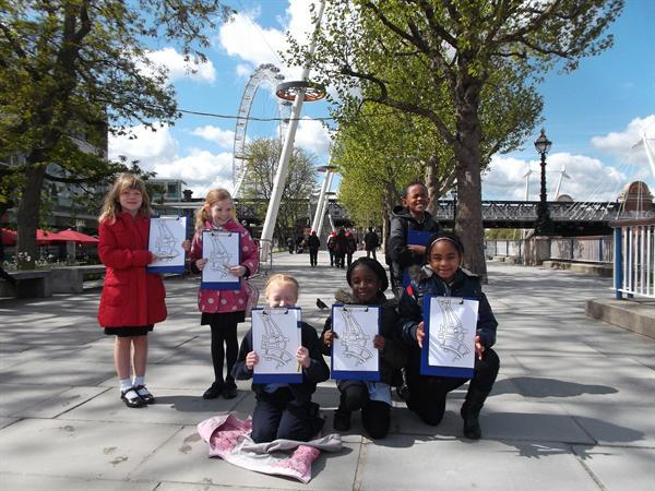 Our visit to Central London