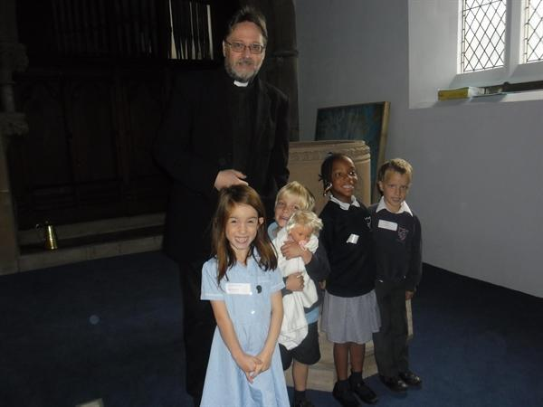 Visit to St Pauls for a Baptism