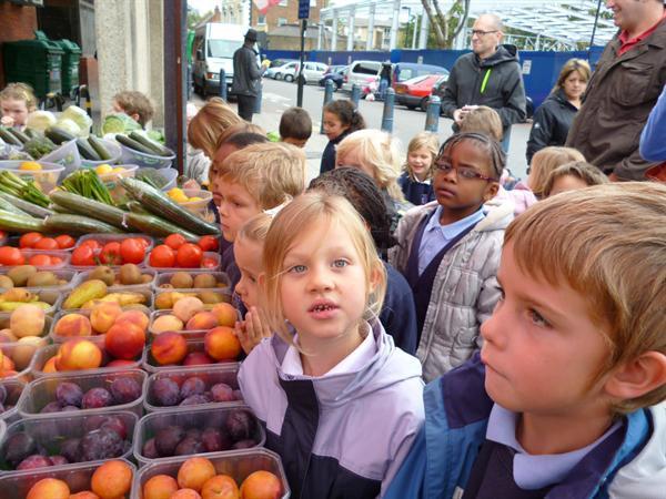 Trip to Brixton market