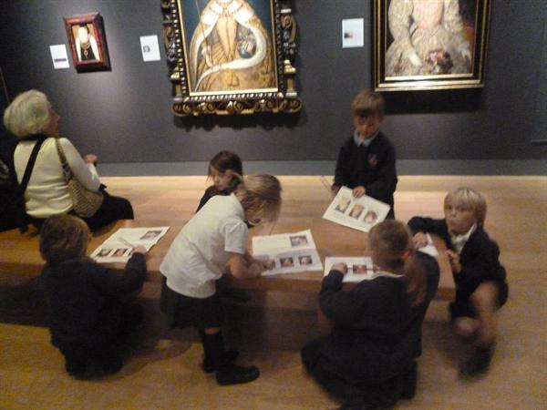 Visit to the National Portrait Gallery
