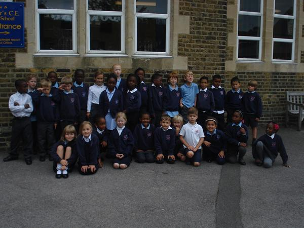 Here we are! The new Y3's!