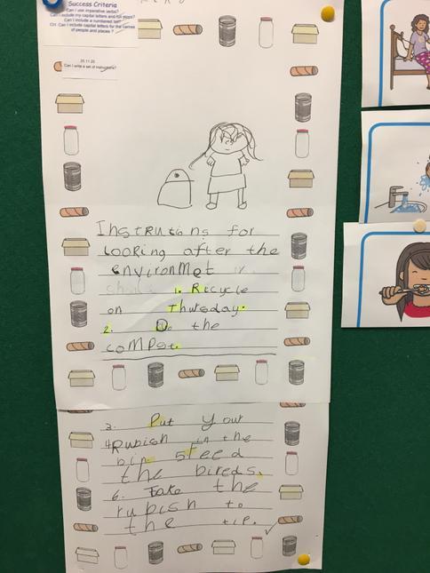 Year 1 (Canada Class) English