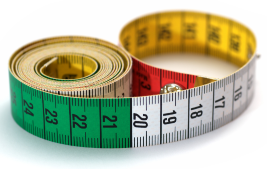 Measuring length.