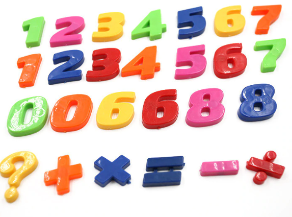Magnetic numbers: Number sentences.