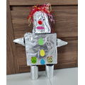 Lena has made this fantastic Robot as part of her Home Learning