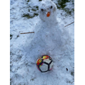 Mr Seedat's wonderful snowman creation!