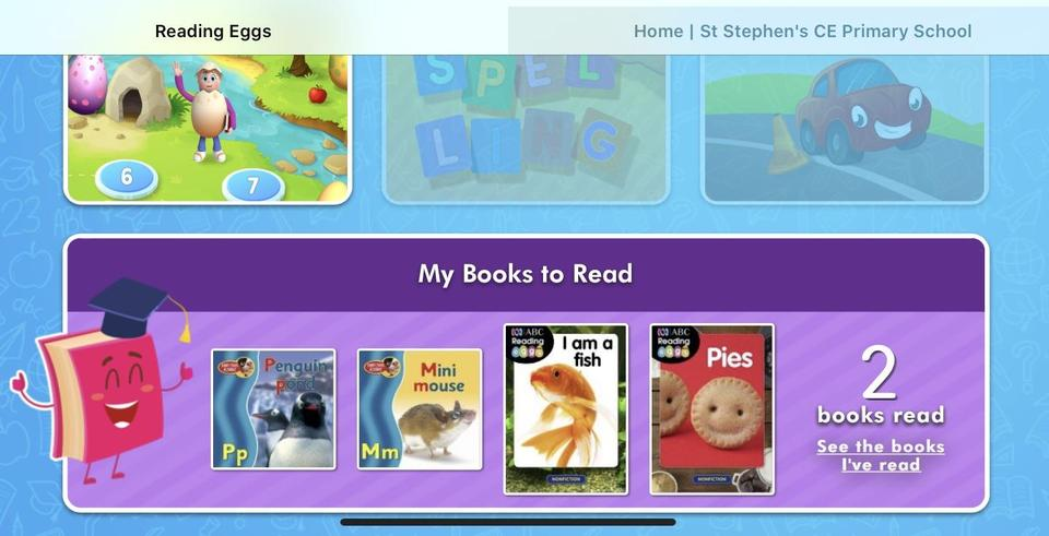 Scroll down to see books to read