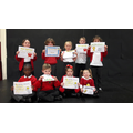 Our Infant Certificate Winners