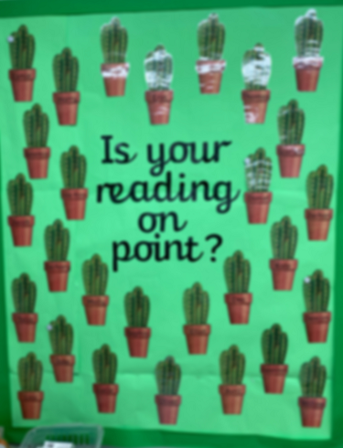 Reading display!