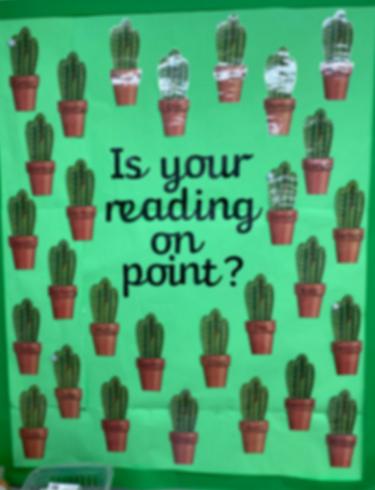 Reading display!