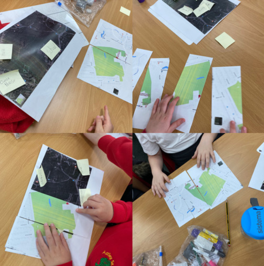 We have had fun looking at our local area in Geography!