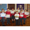 Our proud Infant certificate winners