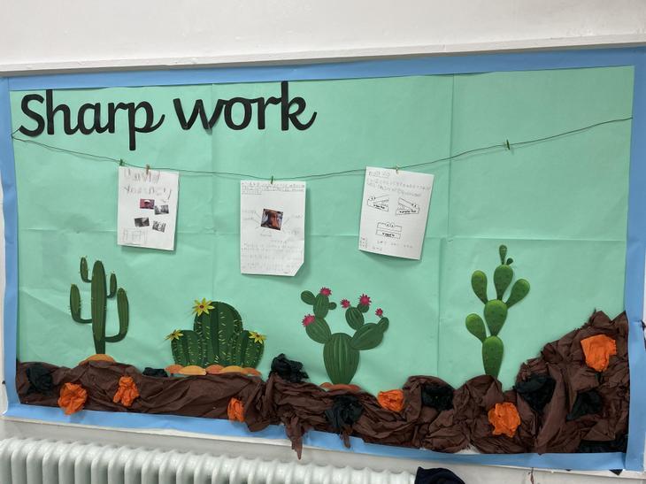 Sharp Work wall!