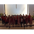 KS1 and KS2 singers at ATHOS Music Festival