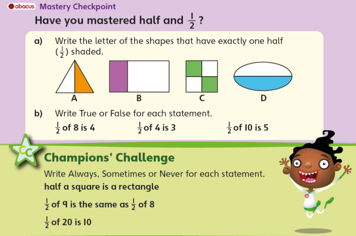 Use this as a challenge if you like! These are useful to check our understanding