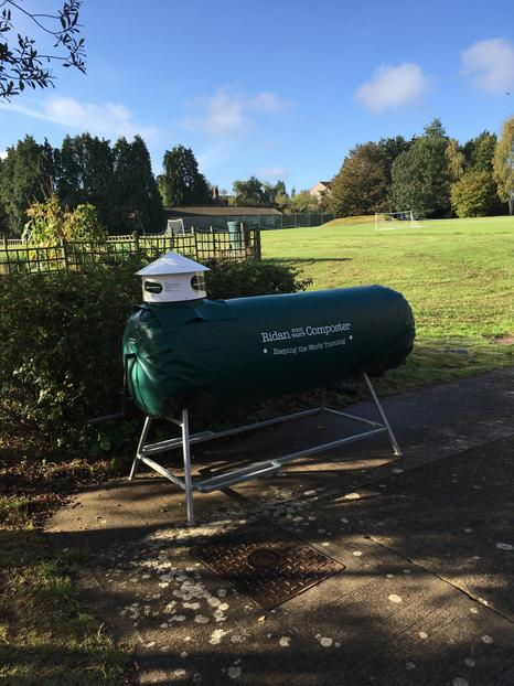 The new food waste composter.