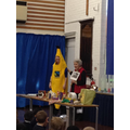 Miss Virco was a banana!