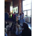 Children spoke about British Values week