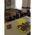 Finding out about chocolate eggs