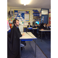 Mr McDonald was the speaker of the house in Y6!