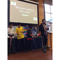 Mr Macdonald announced the winners