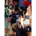 Collecting adjectives to use in our poems