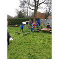 A soggy but fun Easter hunt