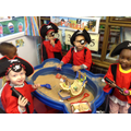 Ar me hearties! Looking for pirate treasure!