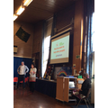 Ben and Louise talked about helping others