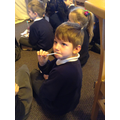 We tasted a vinegar soaked sponge!