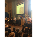 Year 1 / 2 did a super worship assembly