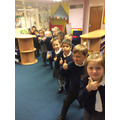 EYFS were excited to vote!