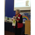 Cath told us all about why we should buy Fairtrade