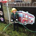 Firefighter in training!