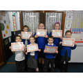 Congraulations to Autumn 2 homework award winners.