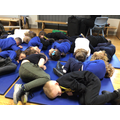Learning about the important role sleep plays for our bodies.