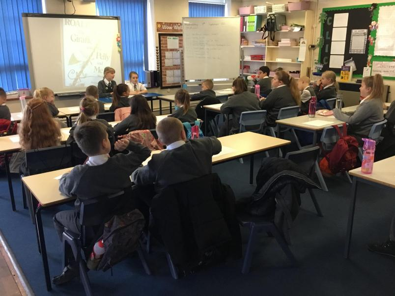We held our first Eco Meeting this week!
