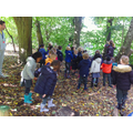 Observing seasonal change on our welly wednesdays