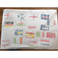 European flags by Tilly