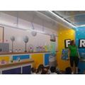 The Fantastic Fred laboratory.