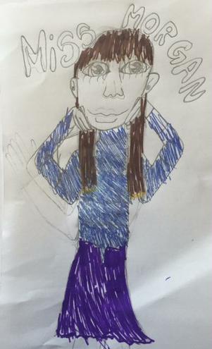Miss Morgan, Yr5 Class Teacher part time