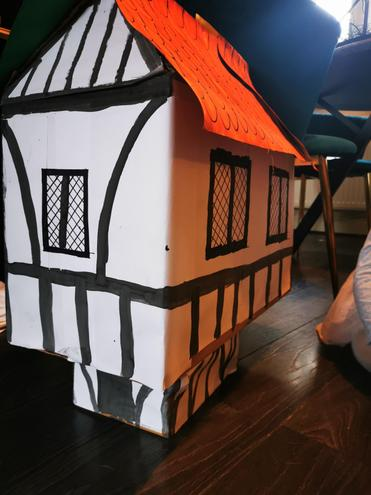 Matilda's Tudor house