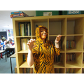 Tigger was reading books in KS2!