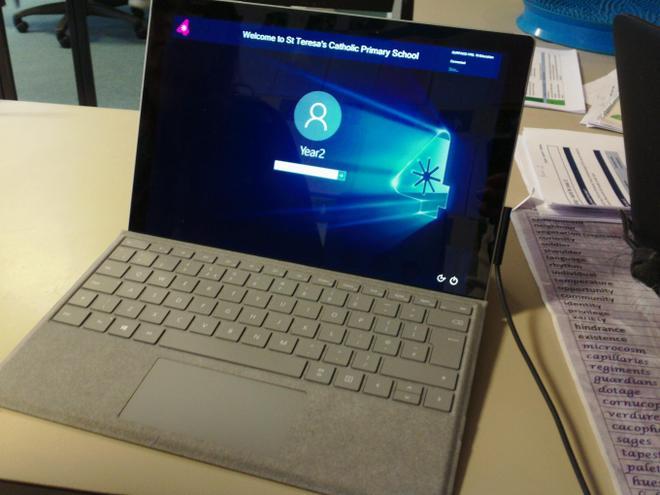 Staff Surface Pro