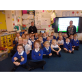 A visit from Fr Roy, our class governor