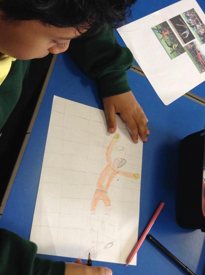 Action figures in Art